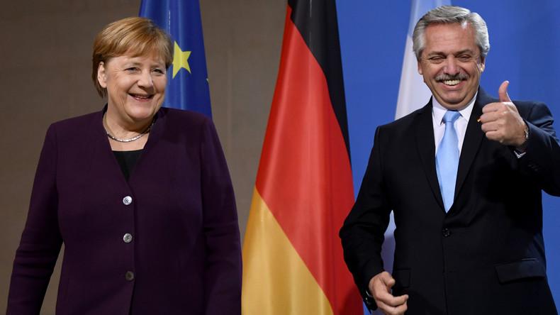 Treffen von Merkel und argentinischem Präsidenten Fernández: Abkehr von neoliberalen Konzepten