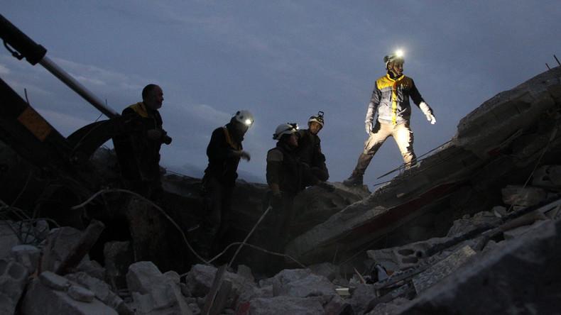 Sie sind wieder da: Russland warnt vor Chemiewaffenangriff der Weißhelme in Idlib