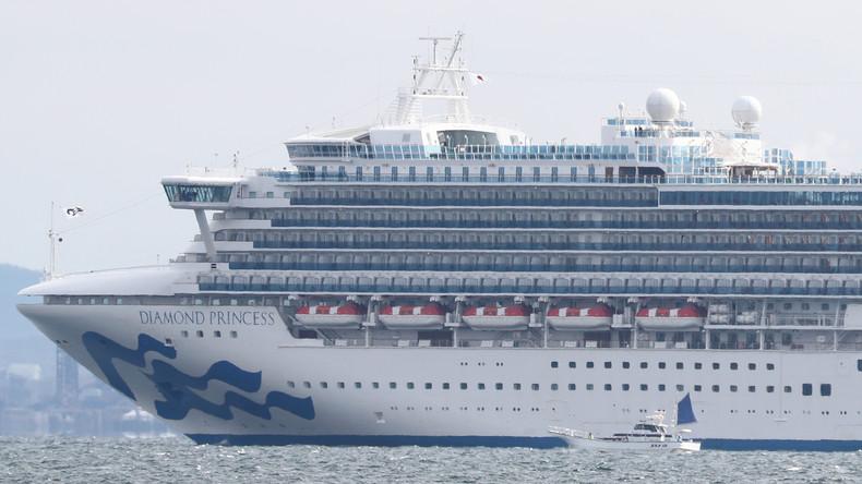 """Japan: Zehn Infizierte auf Kreuzfahrtschiff """"Diamond Princess""""  – Deutsche und Russen an Bord"""