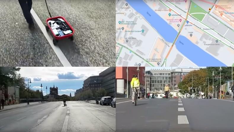 Google Maps ausgetrickst: Bollerwagen mit Handys sorgt für künstlichen Stau