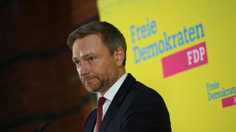 """LIVE: FDP-Chef Lindner gibt nach Kemmerich-Rücktritt Erklärung ab: """"Werde Vertrauensfrage stellen"""""""