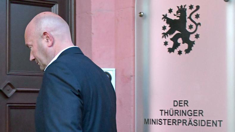 Thüringer Ministerpräsident Kemmerich tritt zurück – FDP-Fraktion will Landtagsauflösung beantragen