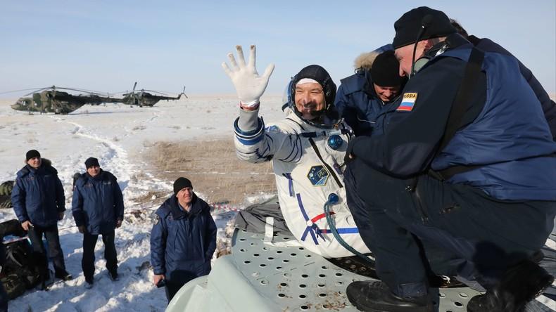 ISS: Astronauten kehren nach Monaten im Weltall auf die Erde zurück