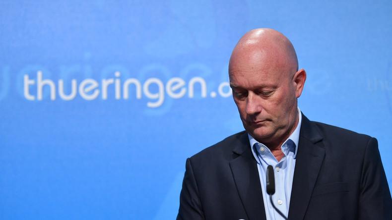 Vor Kemmerich-Rücktritt: Die Rücktrittsforderung der Grünen, SPD und Die Linke