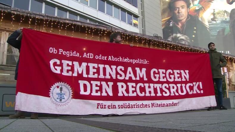 AKK hält nach Gesprächen im Thüringer Landtag Pressekonferenz ab – Proteste in Stuttgart