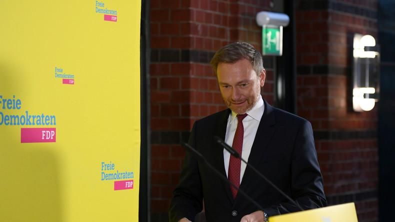 LIVE: Partei-Sondersitzung – Statement von FDP-Chef Christian Lindner