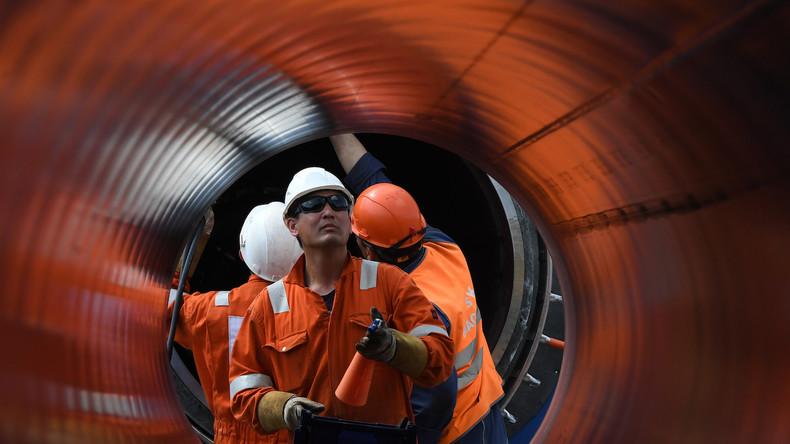 """Bundesregierung lehnt """"jegliche extraterritorialen Sanktionen"""" gegen Nord Stream 2 ab"""