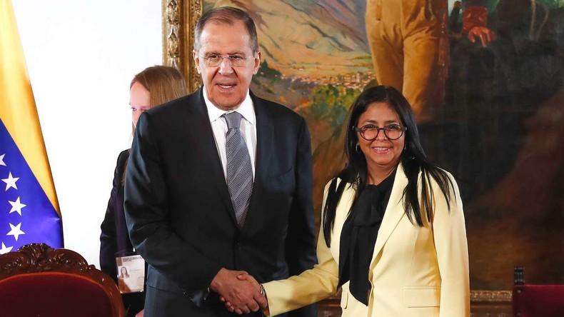 """Lawrow: """"Nationaler Dialog weit offen"""" für alle Vertreter der venezolanischen Gesellschaft"""