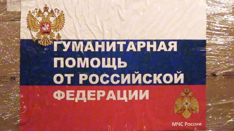 Gemeinsam gegen Coronavirus: Russland liefert medizinische Hilfsgüter nach China