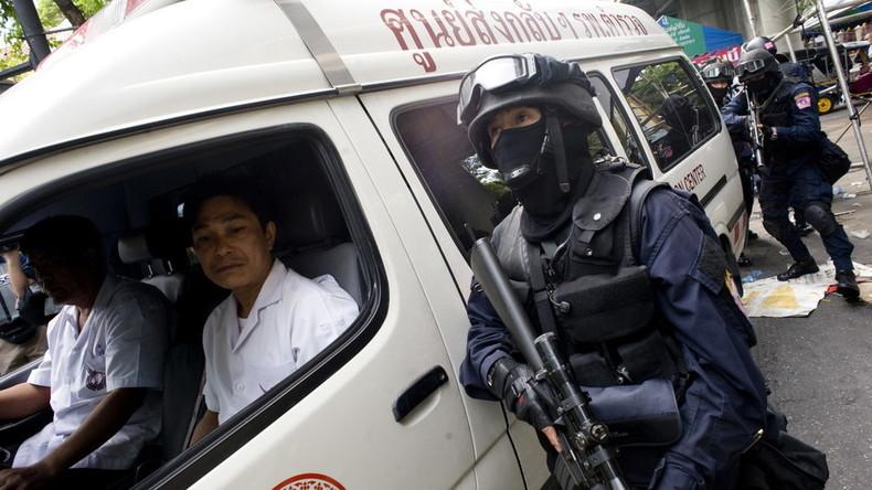 Amokläufer in Thailand tötet 26 Menschen und nimmt 16 Geiseln