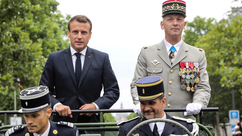 """Macron: """"Ungehemmter globaler Wettbewerb"""" erfordert nukleare Abschreckung"""