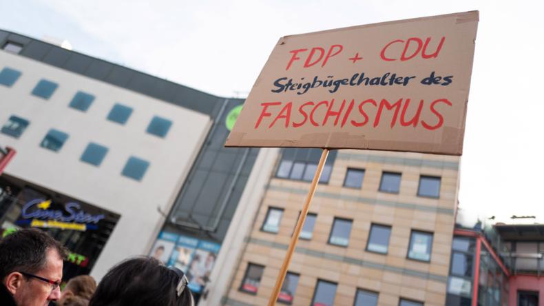 Nach Ministerpräsidentenwahl in Thüringen: Bundesweite Übergriffe auf FDP