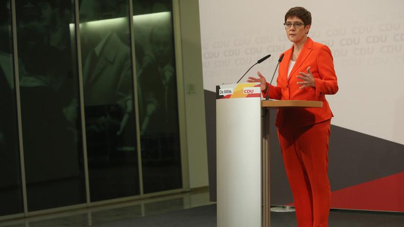 Annegret Kramp-Karrenbauer verzichtet auf Kanzlerkandidatur