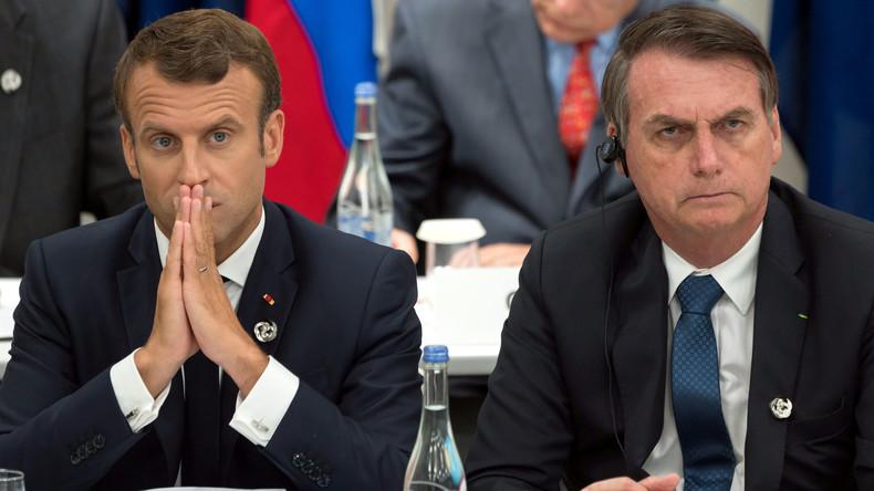 Geleaktes Geheimdokument: Brasilien sieht Frankreich als größte militärische Bedrohung