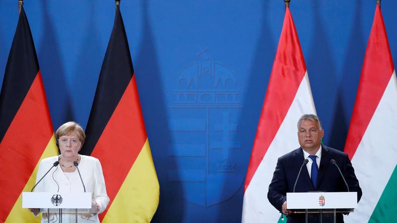 LIVE: Pressekonferenz von Kanzlerin Merkel und ungarischem Regierungschef Orban in Berlin