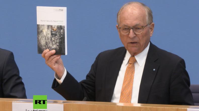 Ischinger auf Bundespressekonferenz: In Syrien hat die Staatengemeinschaft der EU vollkommen versagt