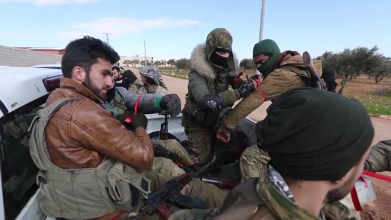 """Gegen """"russische Besatzer und Syriens Regime"""": Türkische Soldaten und Milizen rüsten für Offensive"""