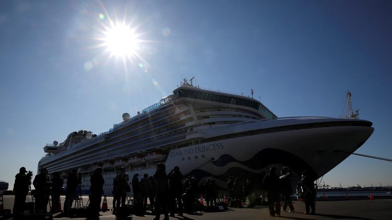 """Moskau: Japanische Behörden agieren im Fall der """"Diamond Princess"""" chaotisch und planlos"""