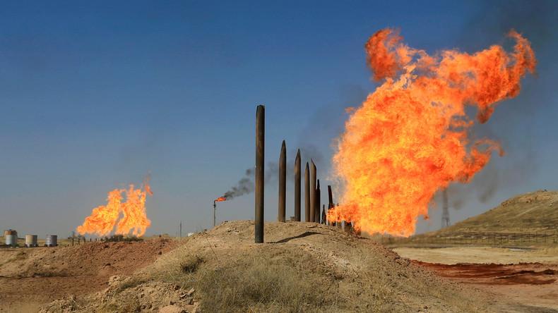 Russische Öl- und Gasfirmen wollen 20 Milliarden US-Dollar in irakischen Energiesektor investieren