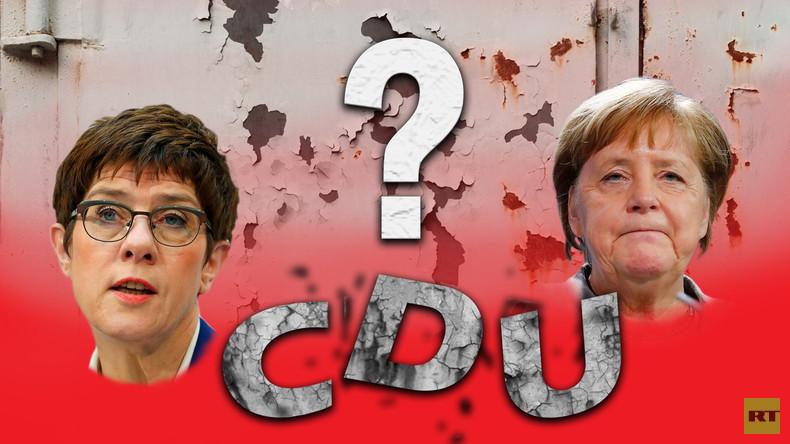 """""""Sie war nie die Richtige"""" – RT-Straßenumfrage zum Chaos in der CDU (Video)"""