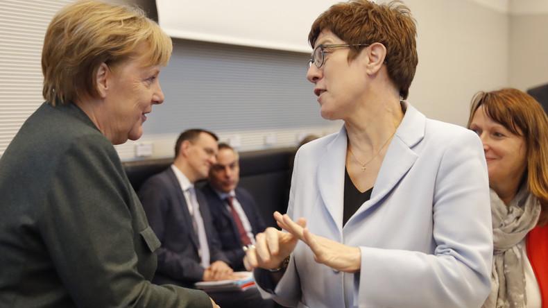 SPD macht GroKo-Zukunft von Merkels Verbleib als Kanzlerin abhängig