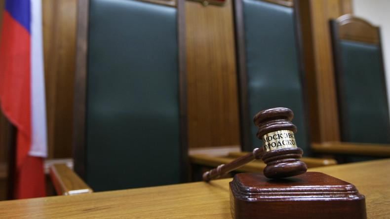 Moskau: Mann erschießt sich bei Urteilsverkündung in Gerichtssaal