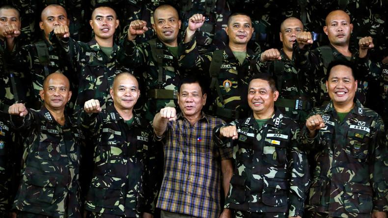 """Duterte zum Ende des Militärabkommens mit den USA: """"Wende mich lieber an China und Russland"""" (Video)"""