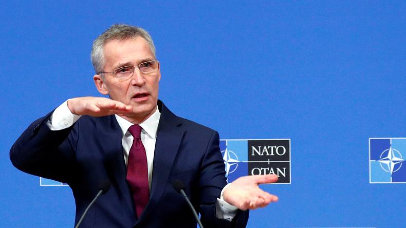 LIVE: Pressekonferenz von Stoltenberg am ersten Tag des Treffens der NATO-Verteidigungsminister