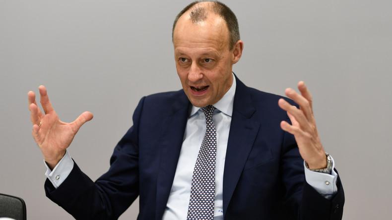 Ex-BlackRock-Lobbyist Friedrich Merz will als CDU-Vorsitzender kandidieren