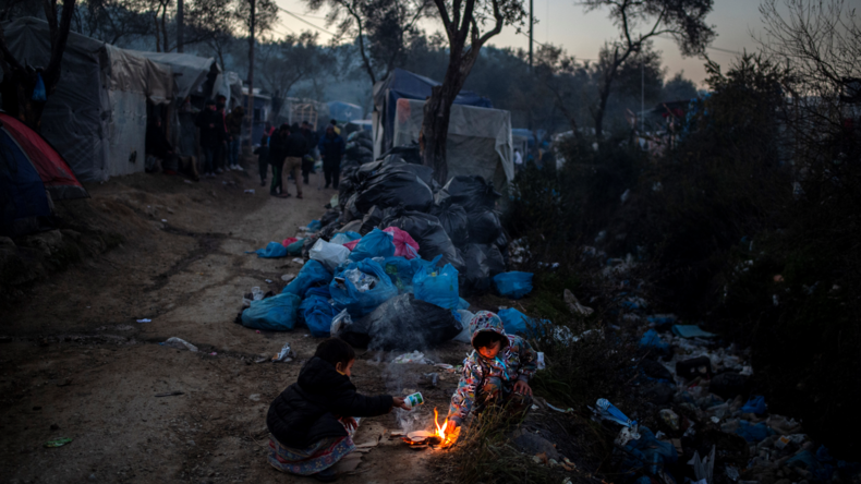 Flüchtlingskrise in Griechenland: NGOs als Unruhestifter und Profiteure