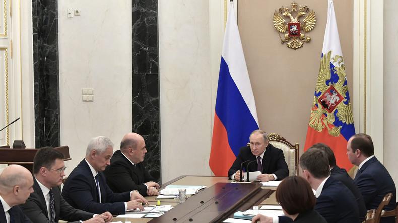 Putin: Russland braucht mehr Investitionen, um globales Wirtschaftswachstum zu übertreffen