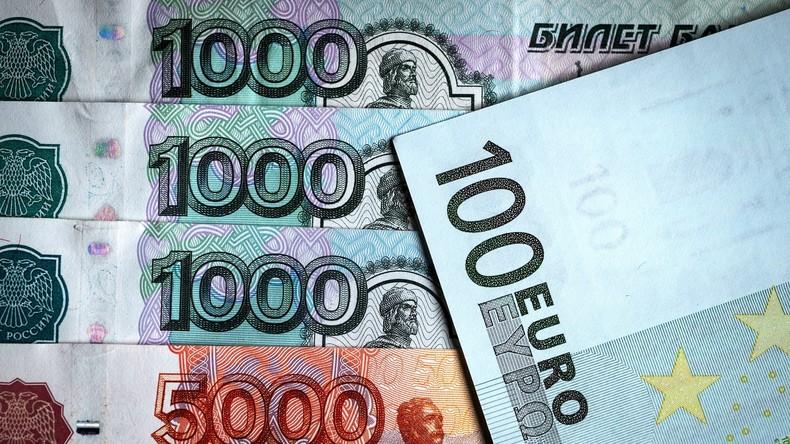 Weg vom US-Dollar: Russland und die EU bauen Zahlungsverkehr in Rubel und Euro weiter aus