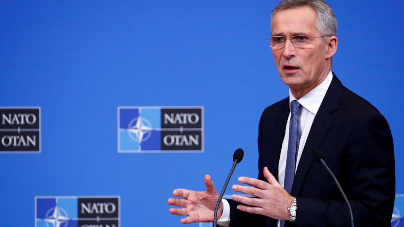 LIVE: Pressekonferenz von Stoltenberg nach dem Treffen der NATO-Verteidigungsminister
