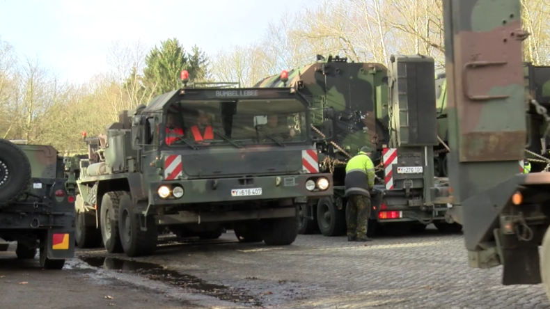 Niedersachsen: Bundeswehr-Soldaten bereiten Militärtransporte für Defender Europe 2020 vor