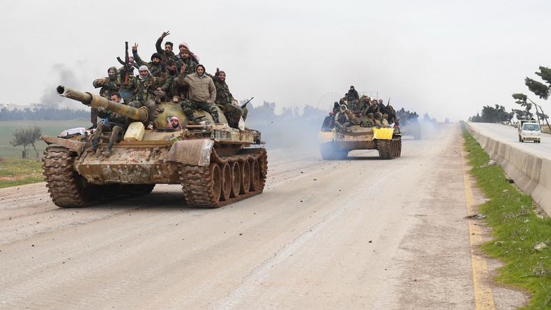 Kampf um Idlib: Ankara und Washington zündeln wieder gemeinsam in Syrien (Video)