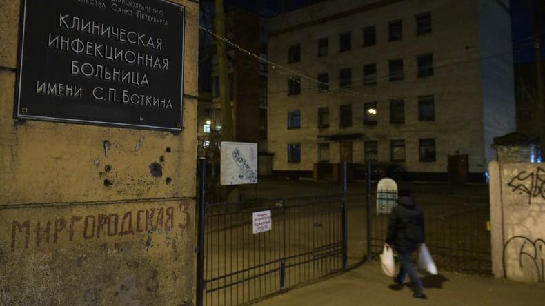 Sankt Petersburg: Frau flieht aus Coronavirus-Quarantäne