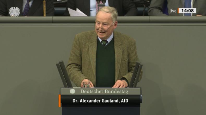 Gauland verteidigt Thüringen-Wahl und rechnet mit Untergang der CDU
