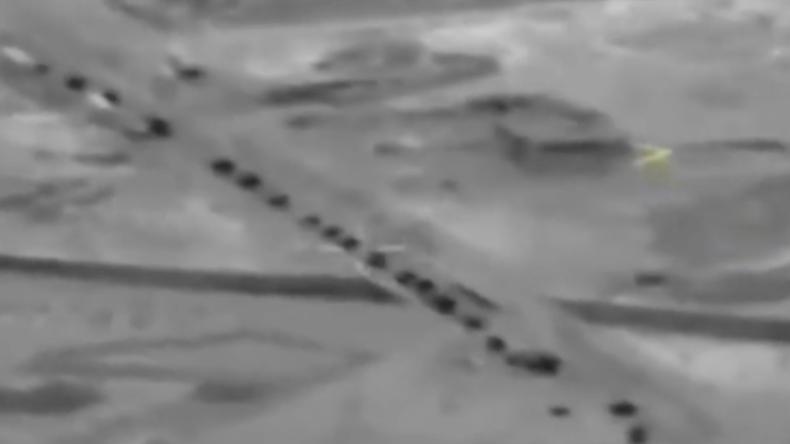 Syrien: Russisches Militär verfolgt türkische Militärbewegungen und veröffentlicht Aufnahmen