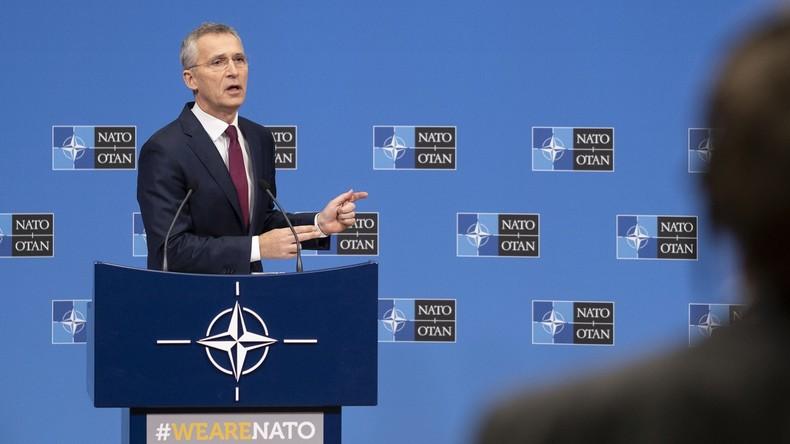 Sacharowa zu  Stoltenbergs Aussage über Ende des INF-Vertrags: NATO wohl wirklich hirntot