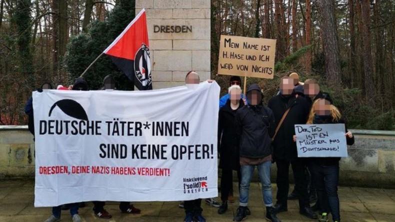 """Linksjugend: """"Dresden, Deine Nazis haben es verdient"""""""