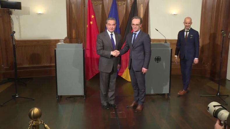 """""""Viren kennen keine Landesgrenzen"""" - Deutsch-Chinesisches Außenministertreffen"""