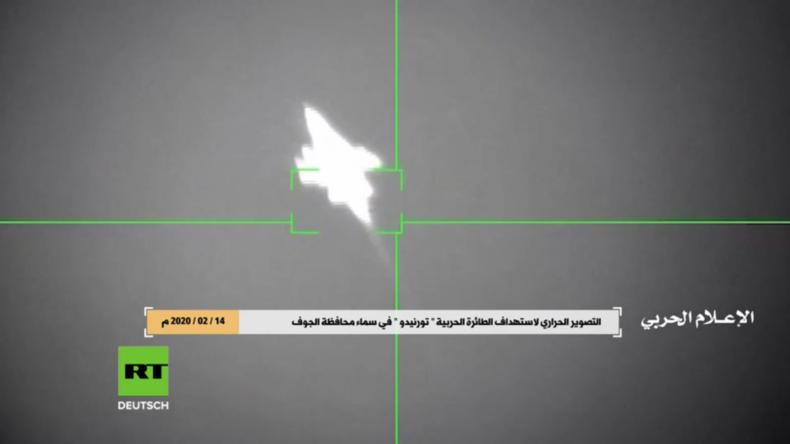 Jemen: Saudischer Tornado-Kampfjet in al-Dschauf von Huthi-Rebellen abgeschossen