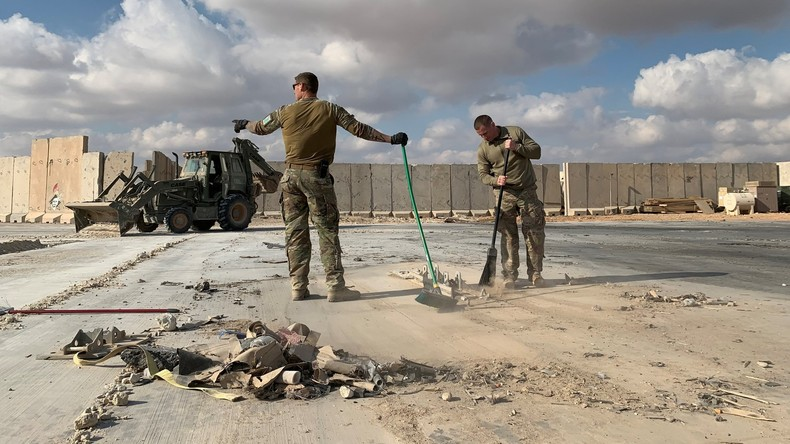 Irak: USA bieten symbolischen Teilrückzug an