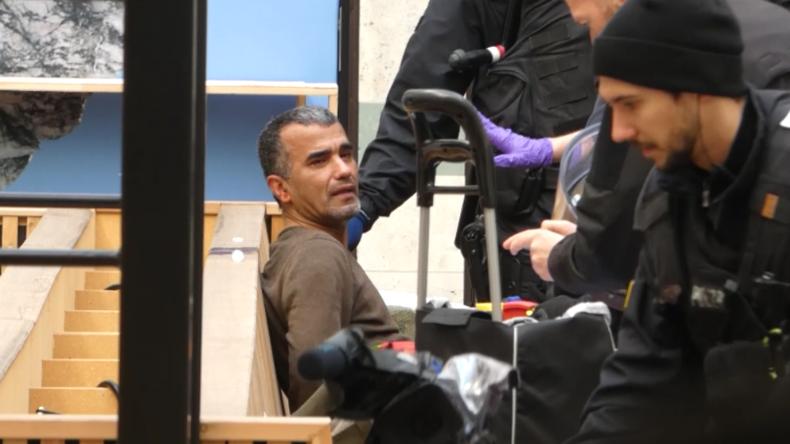 Proteste gegen Münchner Sicherheitskonferenz: Mann will sich mit Benzin selbst entflammen