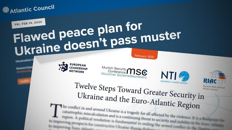 """""""Münchner Komplott"""" verhindert? Atlantic Council torpedierte Ukraine-Plan der MSC"""
