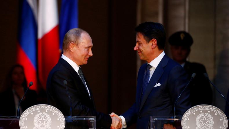 """Moskau: """"Wir werden italienische Firmen bei Lokalisierung der Produktion in Russland unterstützen"""""""