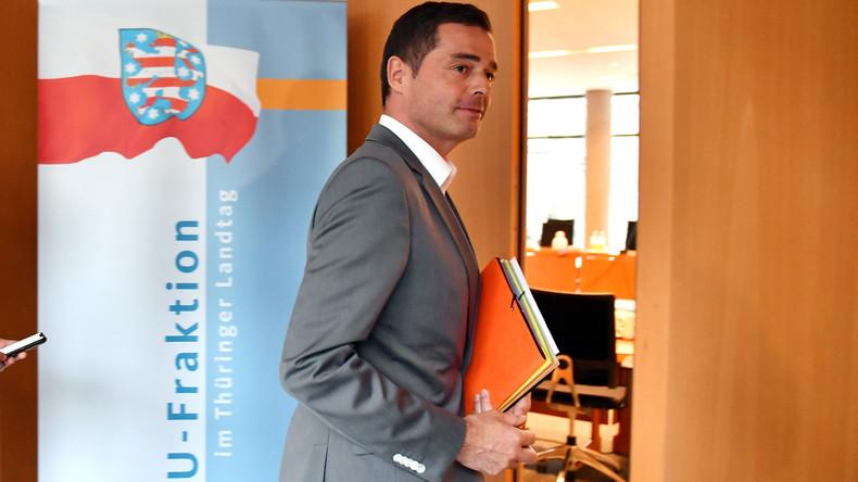 Keine schnellen Neuwahlen: Thüringer CDU lehnt Ramelow-Vorschlag ab