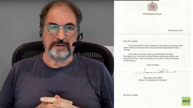 Queen lehnt Gnadengesuch für Assange ab – mit aufschlussreicher Begründung (Video)