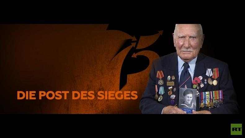 #PostDesSieges: Veteran der britischen Marine Ernie Davies wartet auf eure Briefe