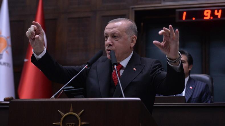 """Erdoğan: Weitere türkische Militäroperation in Syrien nur eine """"Frage der Zeit"""""""